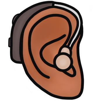 FREE Hearing Aids Clip Art.