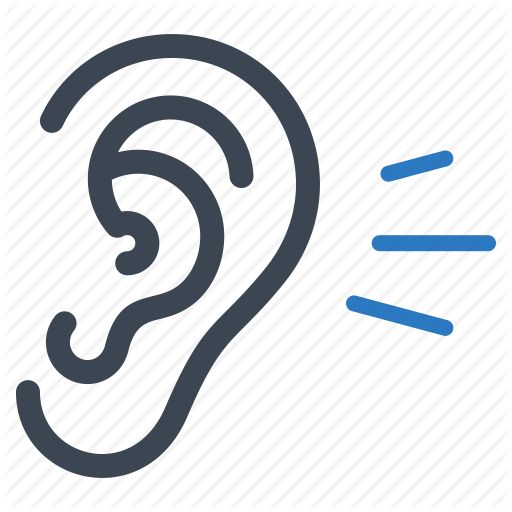 Ear, healthcare, hear, hearing icon #2640.