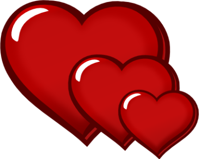 Hearts clipart free.