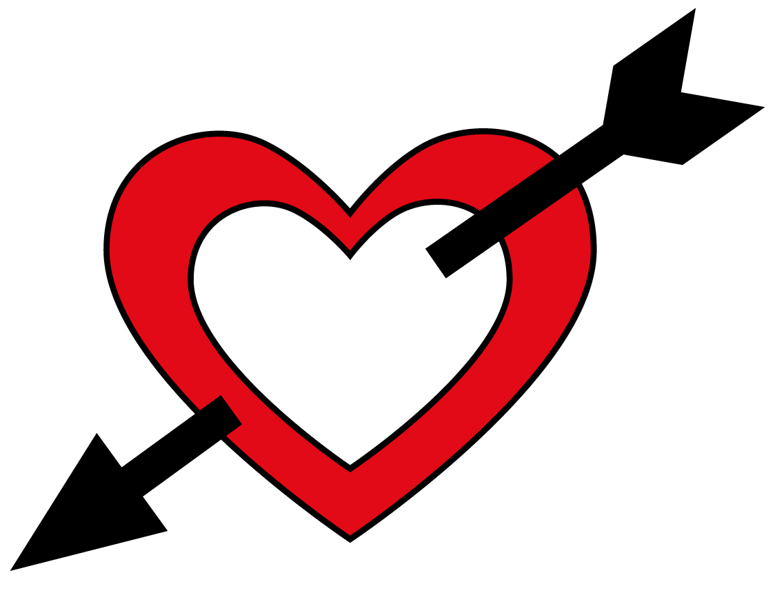 Free Heart With Arrow, Download Free Clip Art, Free Clip Art on.