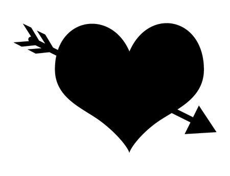 48,111 Heart Arrow Stock Vector Illustration And Royalty Free Heart.