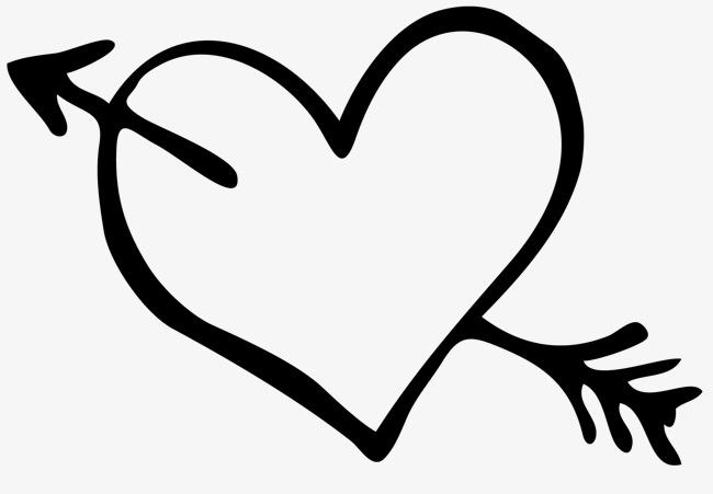 Heart and arrow clipart 7 » Clipart Station.