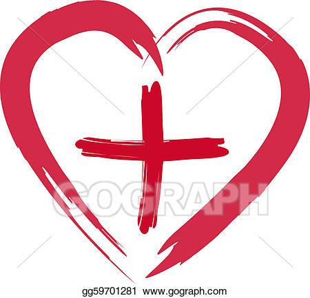 Heart with cross clipart 3 » Clipart Portal.