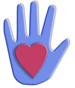 Heart in Hand Clip Art.