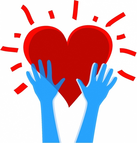 Heart and hands clipart 5 » Clipart Station.