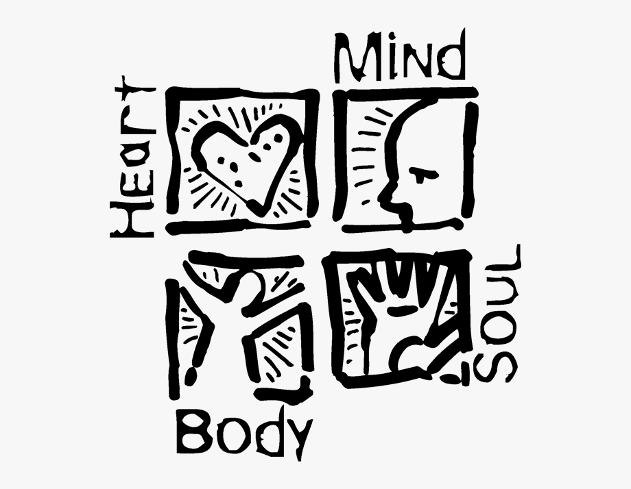 Heart Body Mind And Soul , Transparent Cartoon, Free.