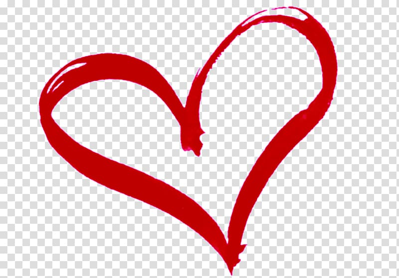 Red heart art, Heart , hearts transparent background PNG clipart.