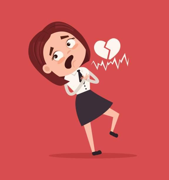 Best Heart Attack Illustrations, Royalty.