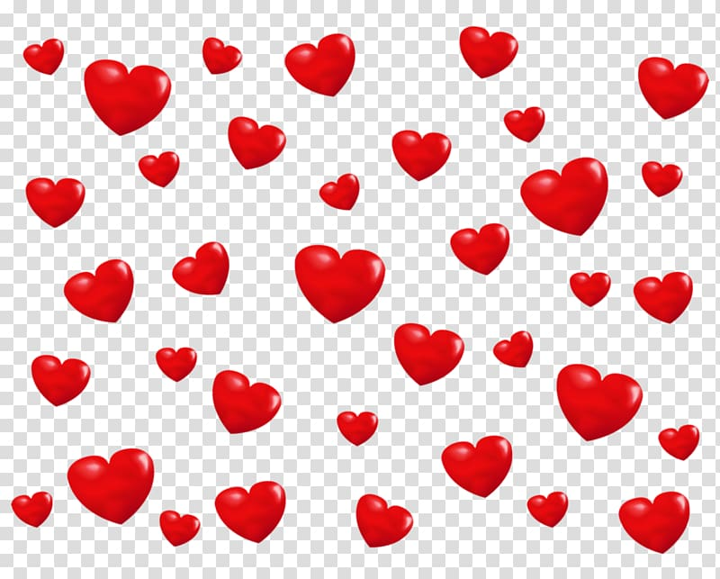 Heart , Background with Hearts, red heart transparent background PNG.