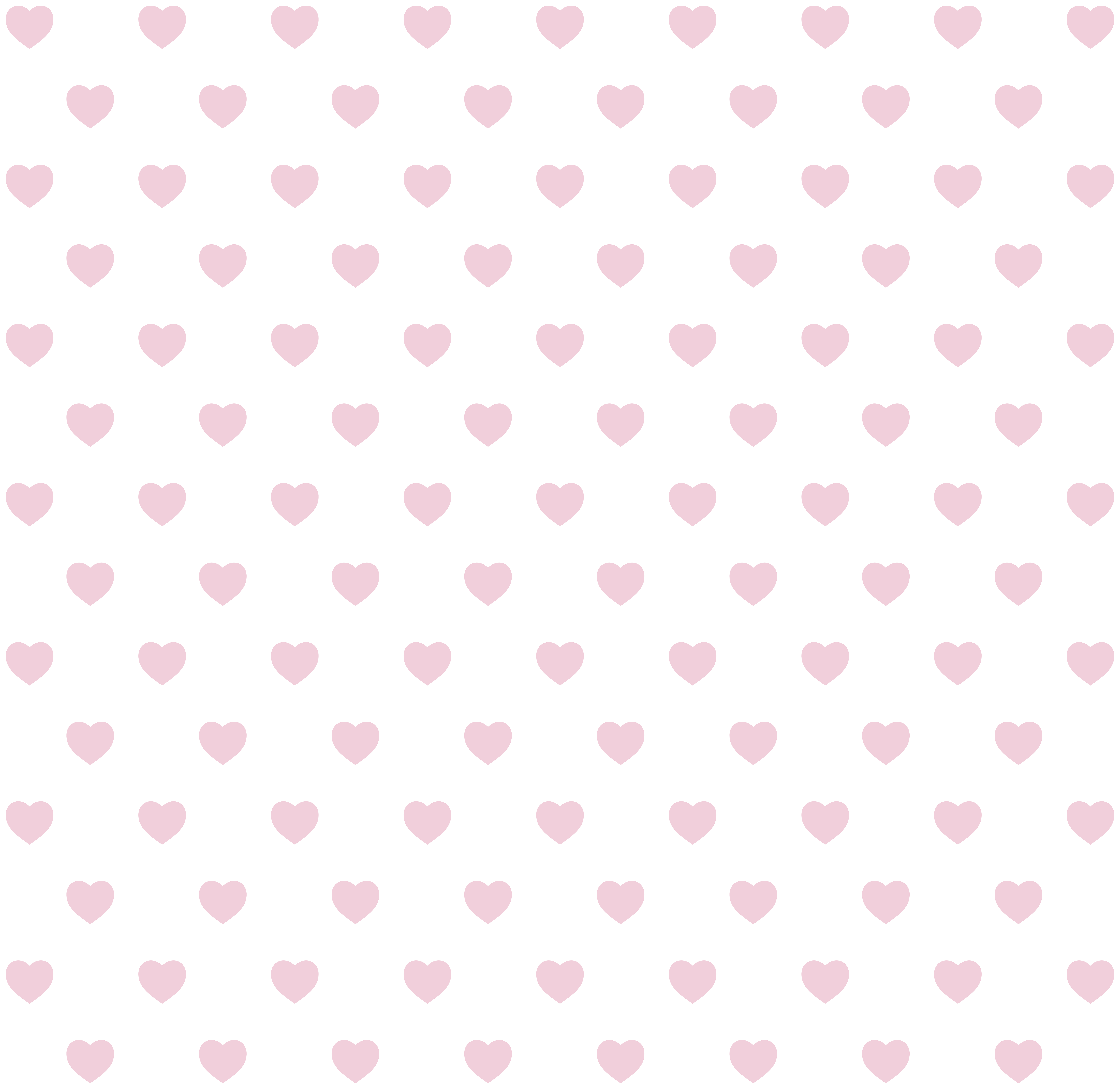 Background Hearts PNG Clip Art Image.