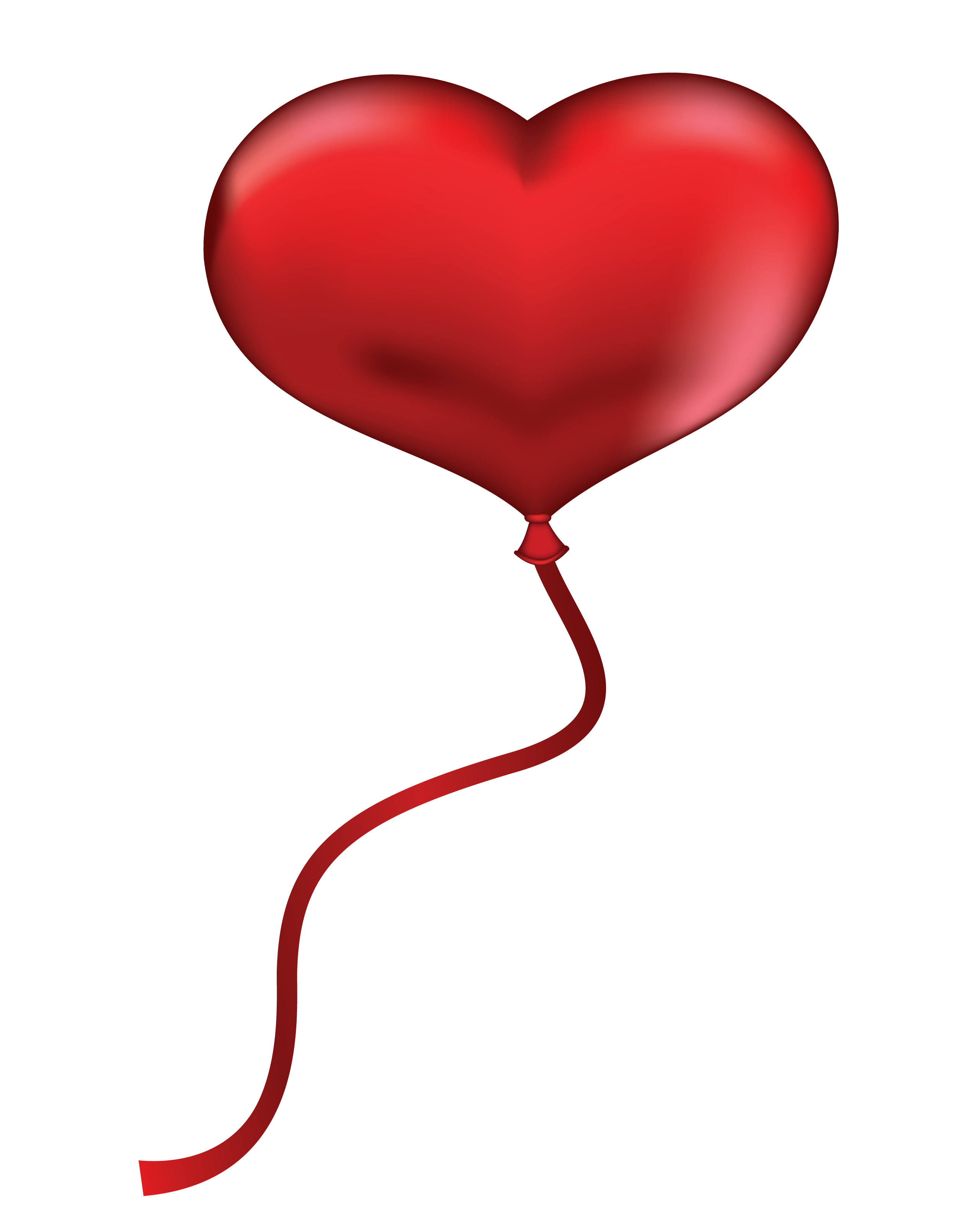 Pix For > Red Heart Outline Black.