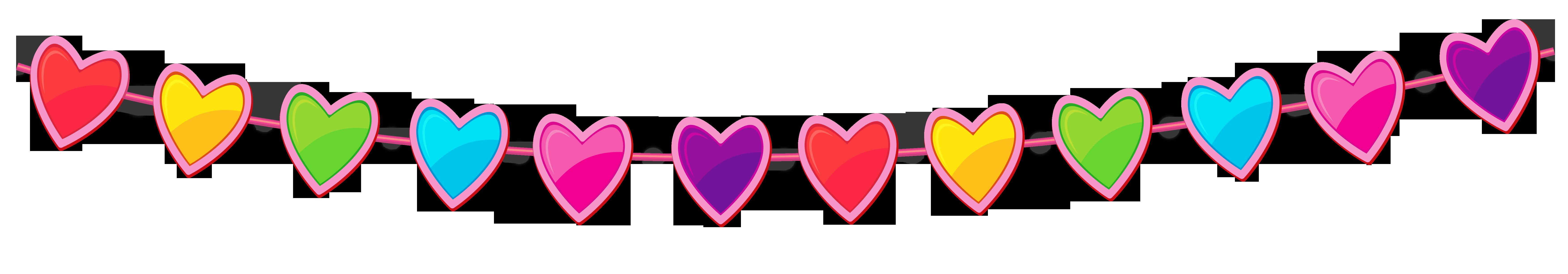 Heart Banner Clipart Transparent.