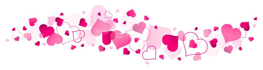 Clipart Heart Banner.