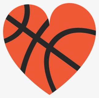 heart basketball clipart #7