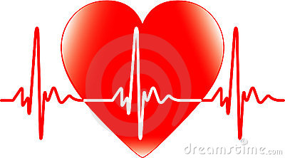 Heartbeat Stock Illustrations.