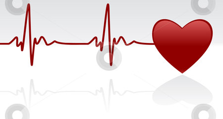 Heart beating fast clipart.