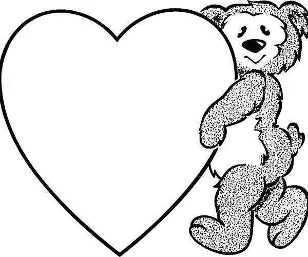 Hearts Clipart Black And White.