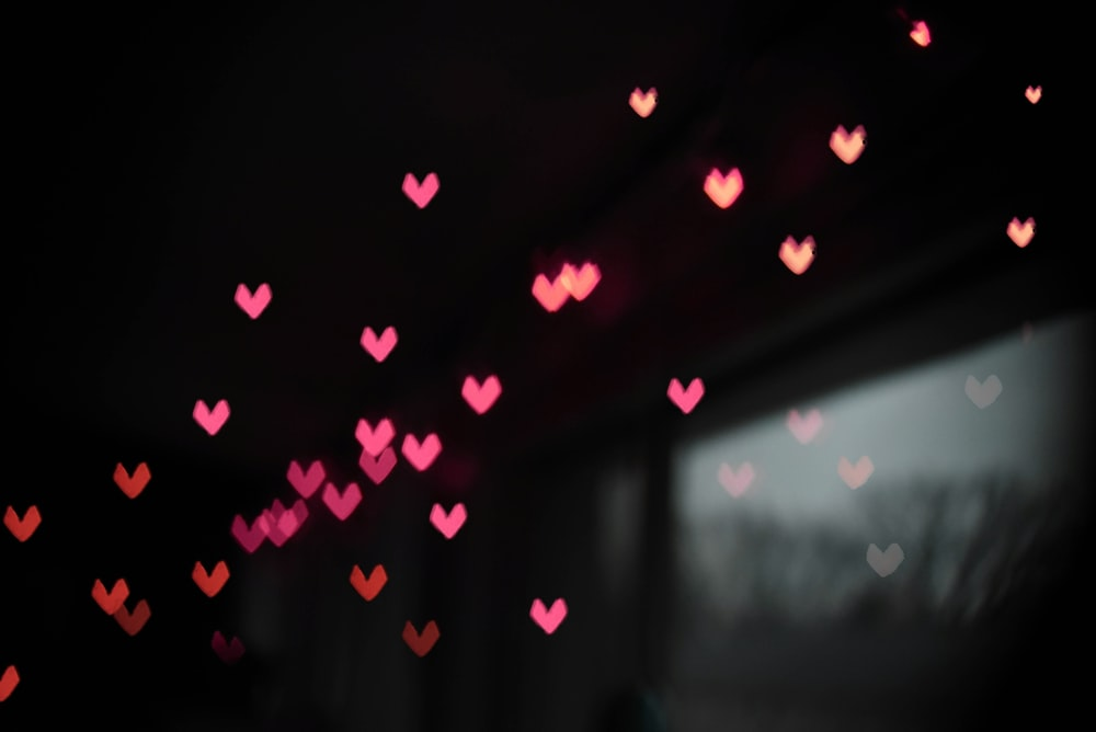 Best Heart Bokeh Pictures [HD].