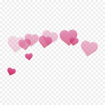 Booth, pink heart transparent background PNG clipart.