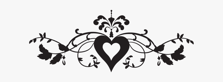 Fancy Arrow Clipart Black And White.
