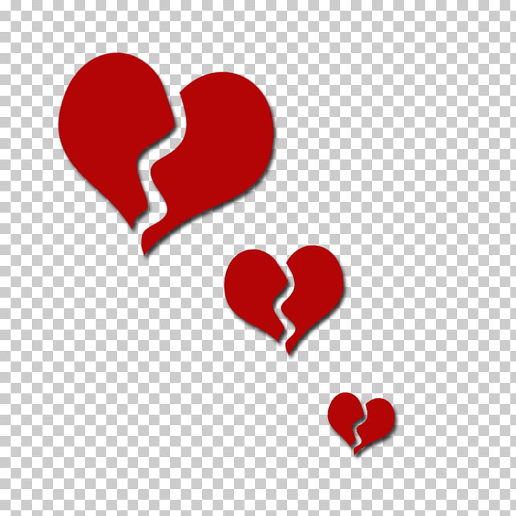 Broken heart , Heartbreak s PNG clipart.