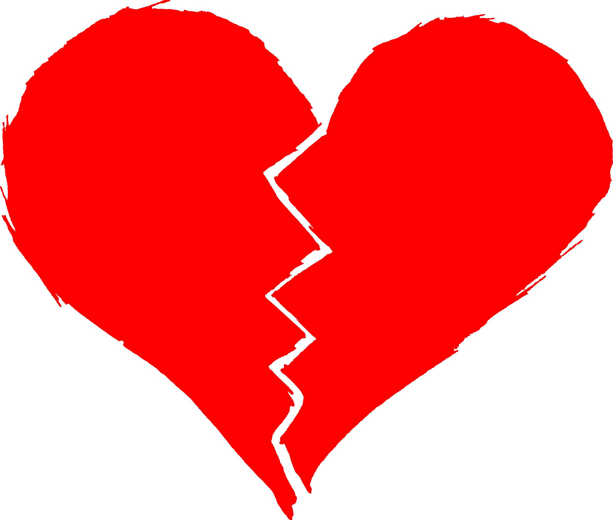 Broken Heart Transparent Background #45701.