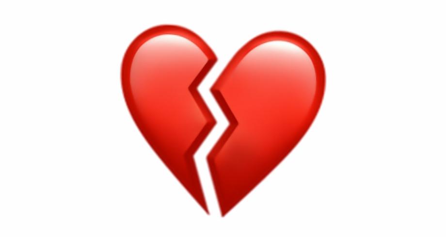 heart #broken #brokenheart #sad #red #hearts.