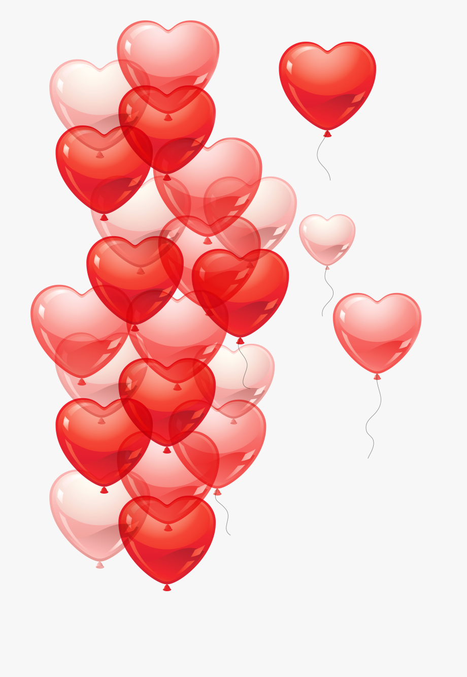 Png Freeuse Stock Heart Bubbles Clipart.
