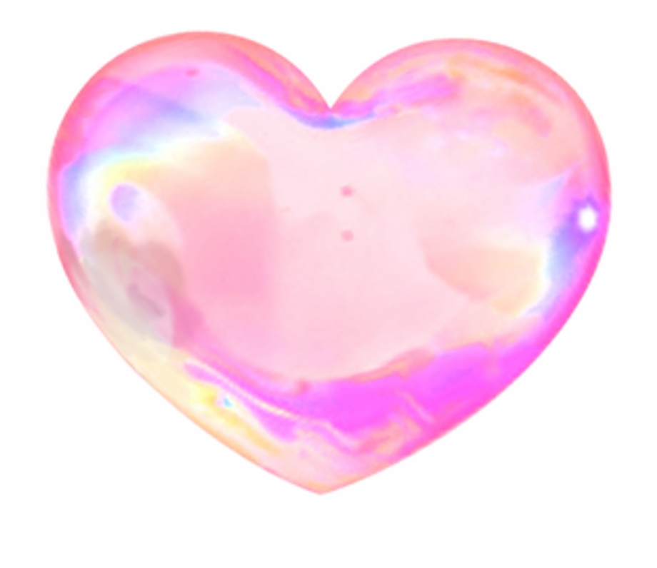 Love Neonlight Luminous Neon Lighting Heart Bubbles.