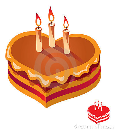 Birthday Candles For Cake Vector Illustration Stock Vector.