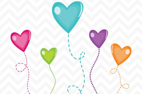 Clip Art Candy Hearts Vector.
