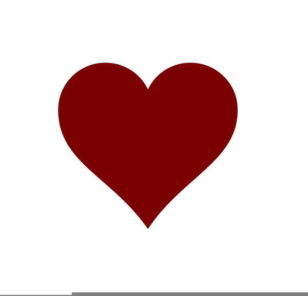 Playing Card Heart Clipart.
