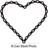 Chain heart Vector Clipart EPS Images. 1,466 Chain heart clip art.