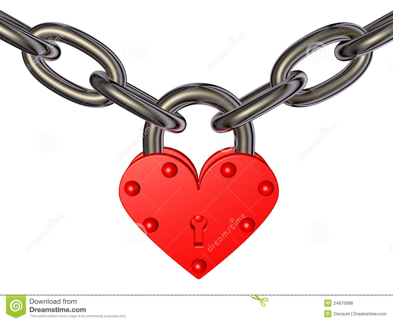 Heart Chain Clipart (61+).