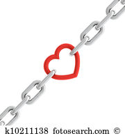 Heart chain Illustrations and Clipart. 656 heart chain royalty.