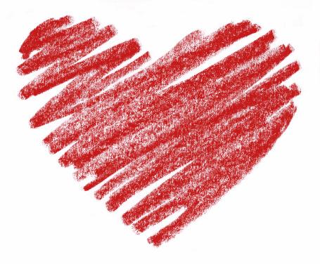Chalkboard Heart Clipart.