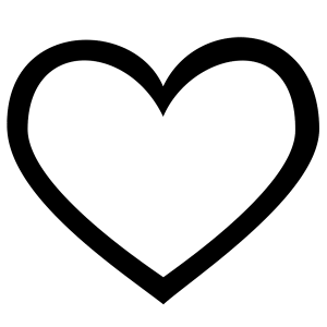 999+ Heart Clipart Black And White [Free Download.