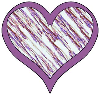 Cute hearts clipart blue.