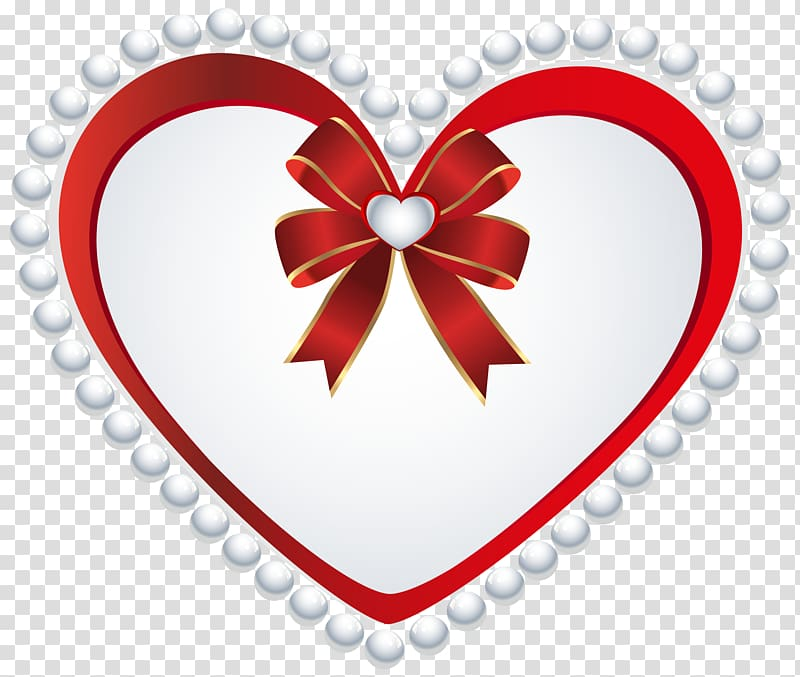 Red and white heart illustration, file formats Lossless.