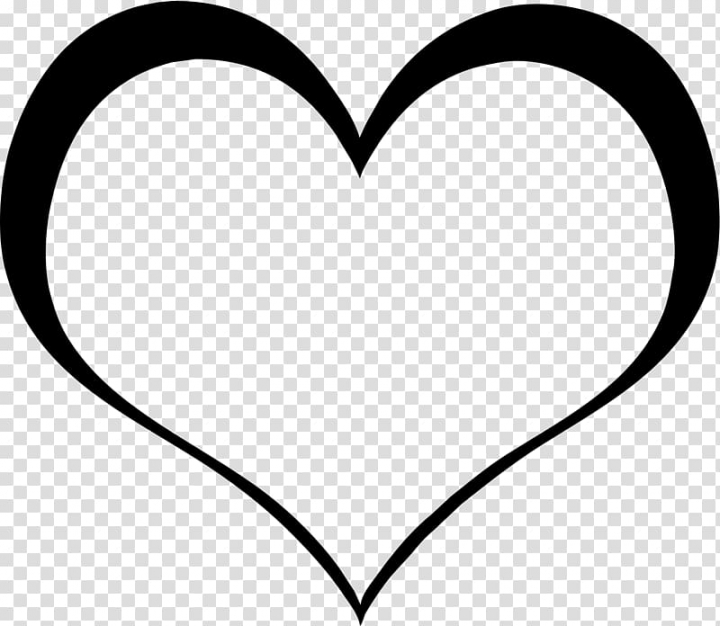 Black heart illustration, Broken heart Silhouette Psychology.
