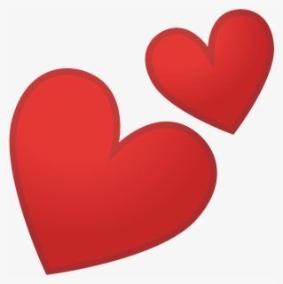 Free Two Hearts Clip Art with No Background.