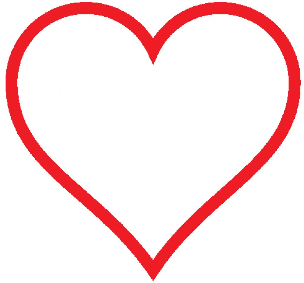 Heart PNG HD.