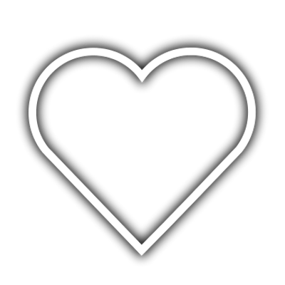 Heart Outline Dotted transparent PNG.
