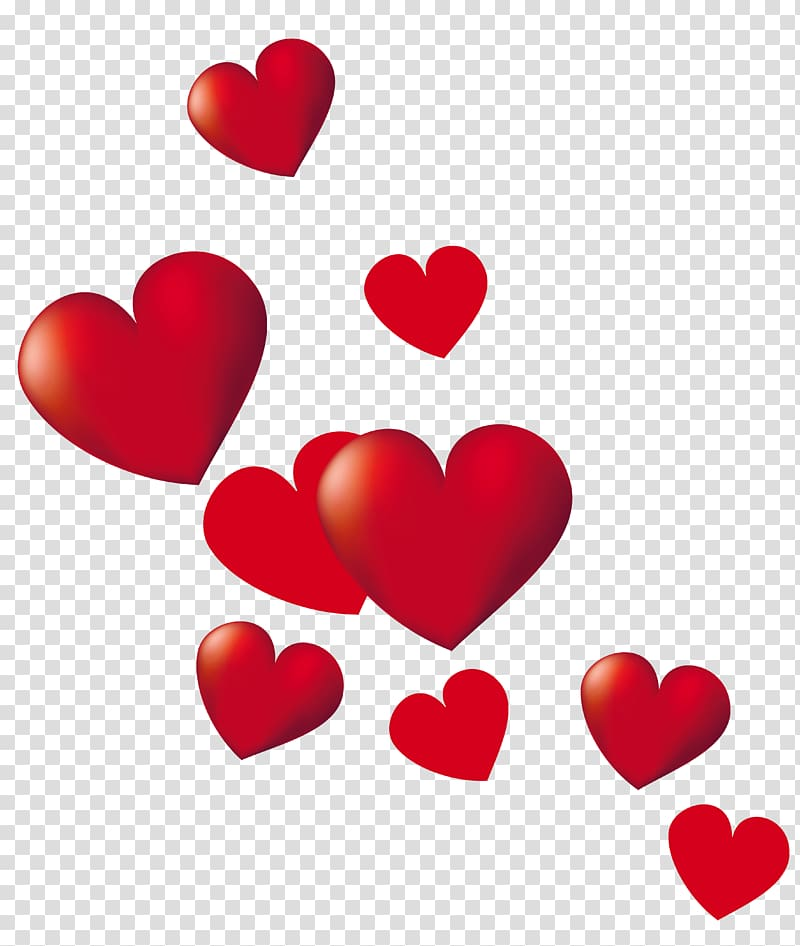 Heart , Hearts , red heart poster transparent background PNG.