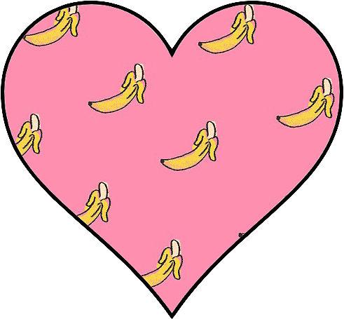 Banana Heart Tumblr