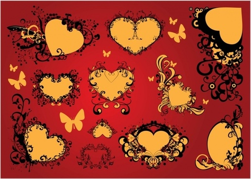 Valentine heart clip art vector free vector download (210,823 Free.