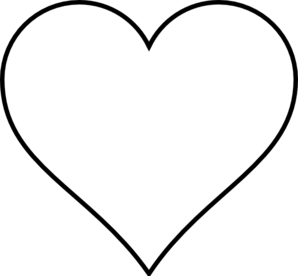 Wedding Hearts Clipart Black And White.
