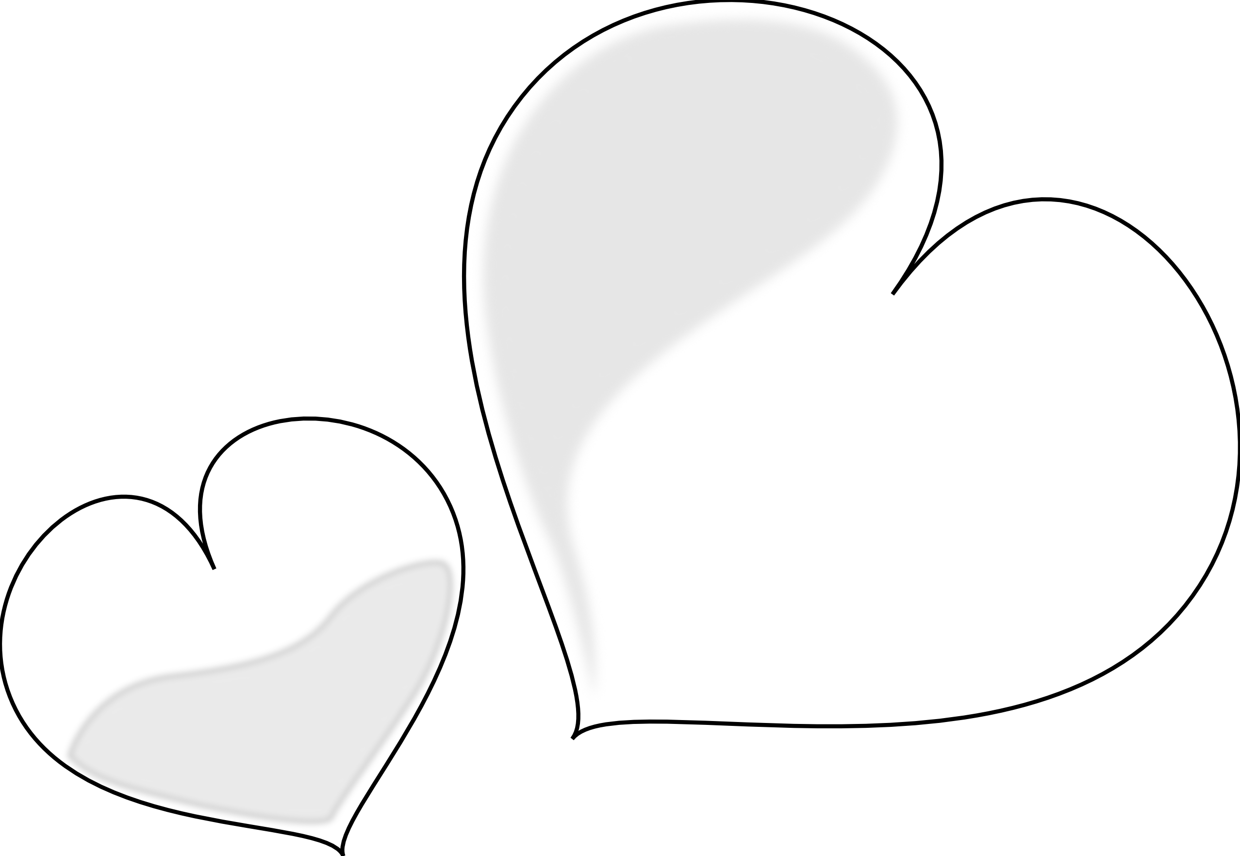 Heart black and white heart clipart black and white clip art heart.