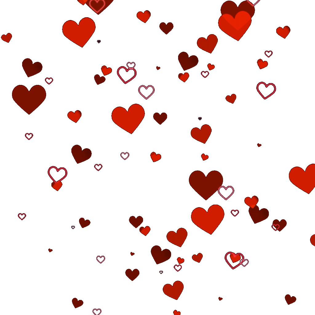 Heart Cluster Png.