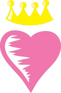 Heart Crown Clip Art Pictures to Pin on Pinterest.
